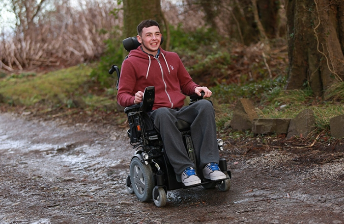 Powered TDX SP wheelchair from Invacare