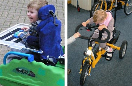 Buggies and Trikes for disabled children