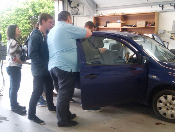 Falmouth University students visit Cornwall Mobility