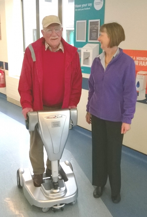RollerScoot at Royal Cornwall Hospital